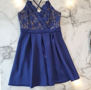Francesca's Lace bodice dress